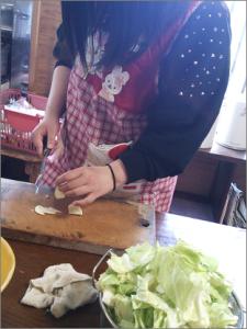 料理教室の様子