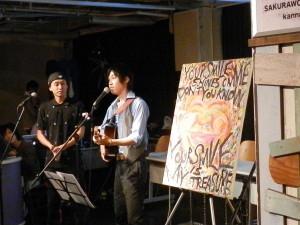 トーワさんと哲生さんのコラボ演奏