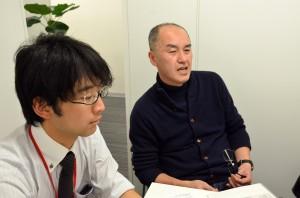 インタビューに応える村田さんと高橋さん