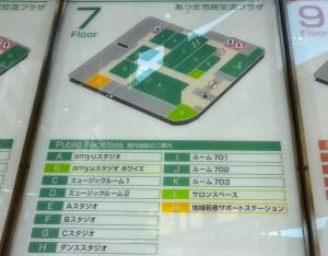 建物の地図