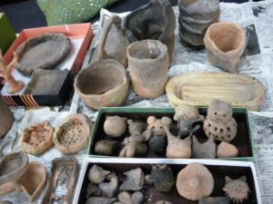 制作した陶芸品