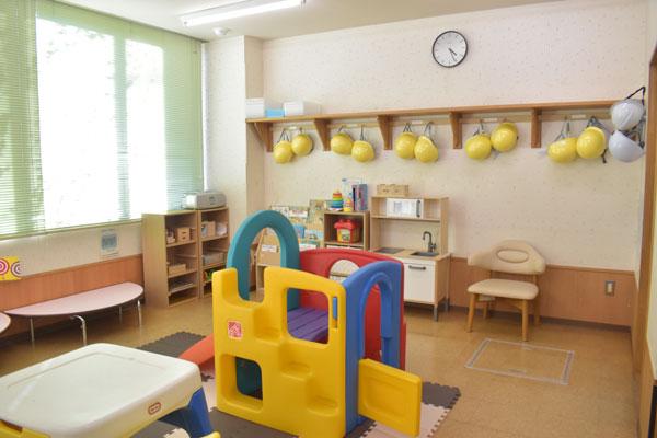 保育室の内部